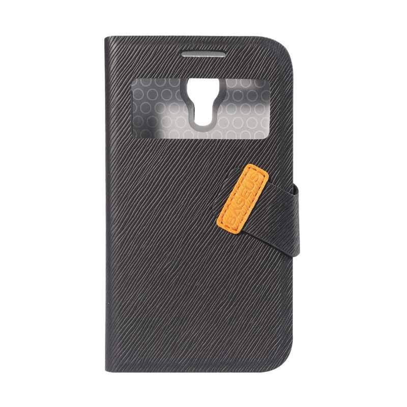 Baseus Faith Leather Case For Galaxy S4 Mini Black