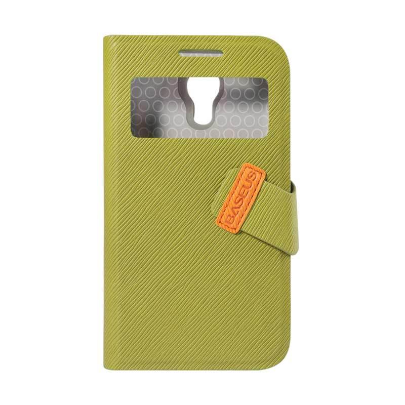 Baseus Faith Leather Case For Galaxy S4 Mini Green