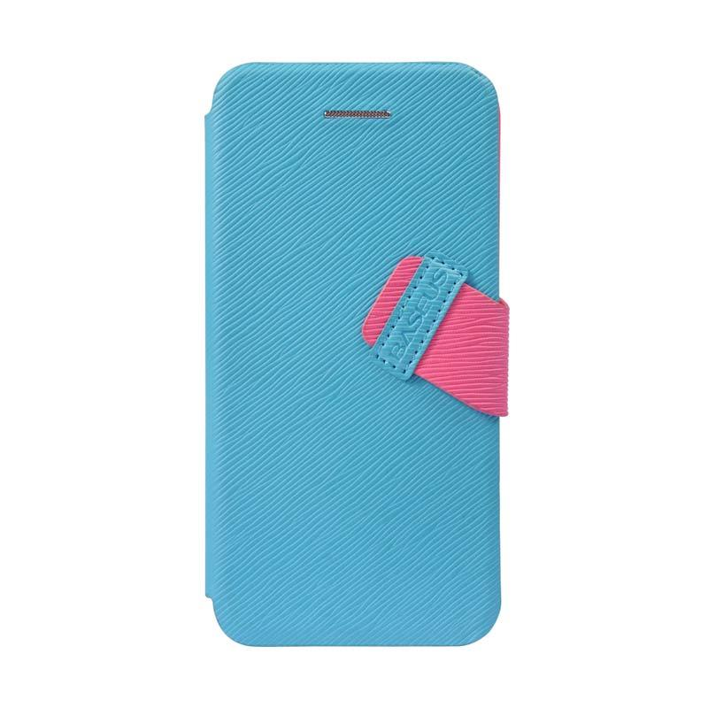 Baseus Faith Leather Case For iPhone 5C Cyan