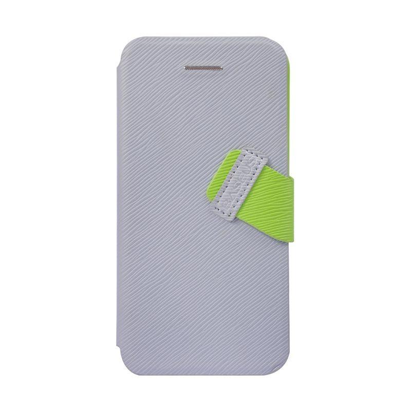 Baseus Faith Leather Case For iPhone 5C Gray