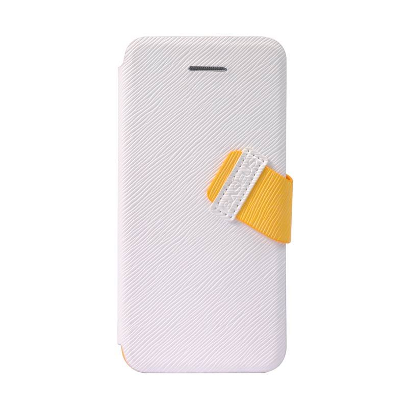 Baseus Faith Leather Case For iPhone 5C White