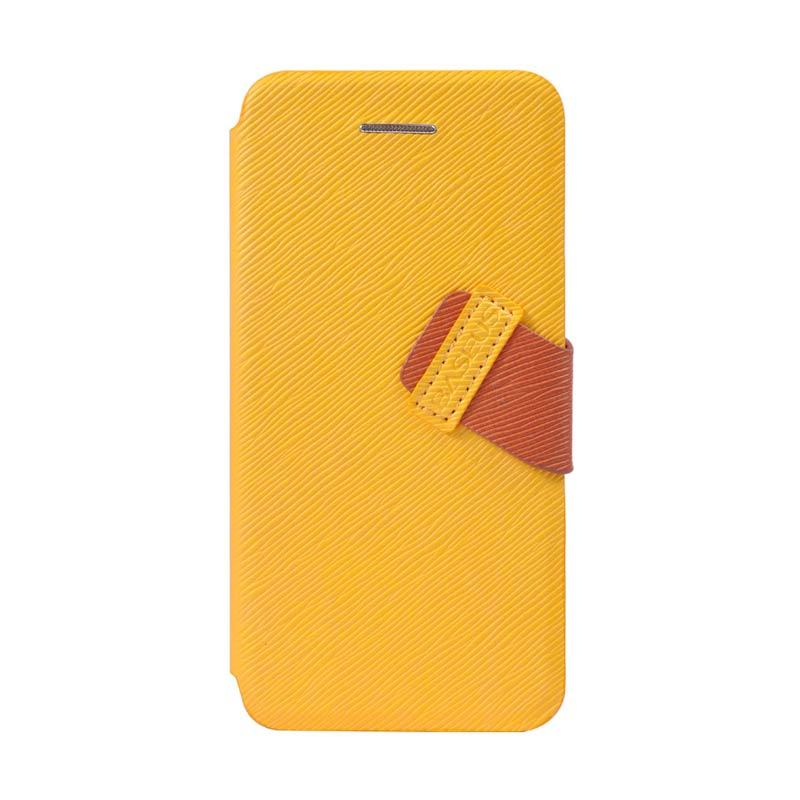 Baseus Faith Leather Case For iPhone 5C Yellow
