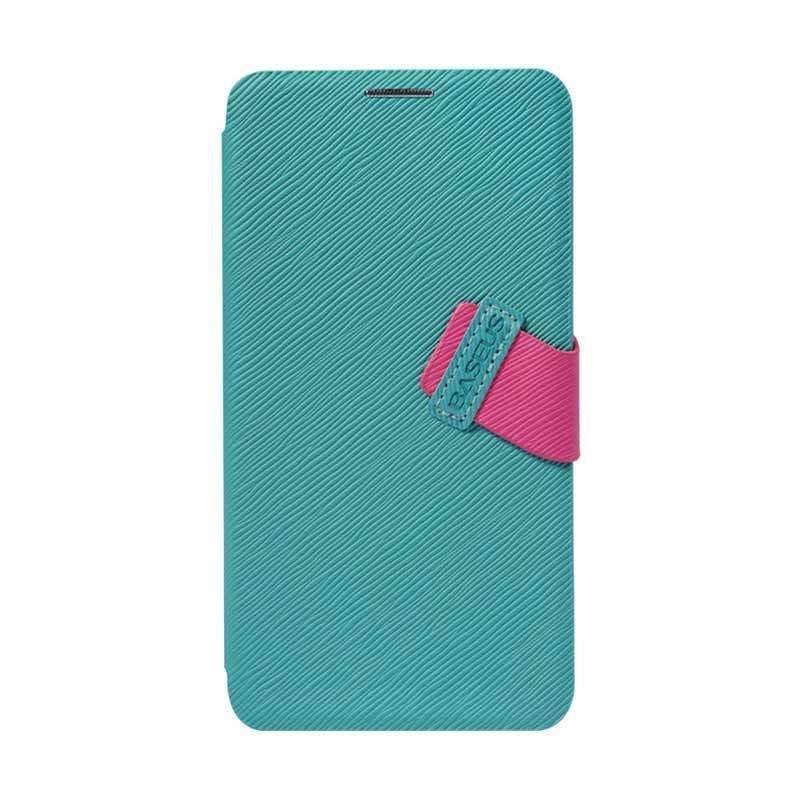 Baseus Faith Leather Case for LG G2 Cyan