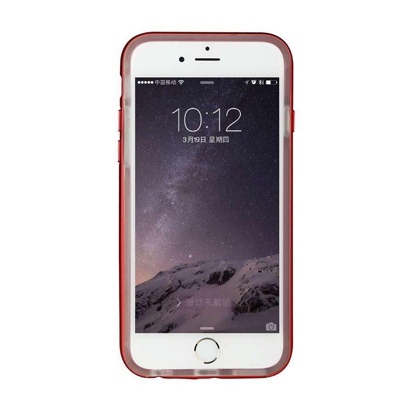 Baseus Fusion Plus Dark Red Casing For iPhone 6