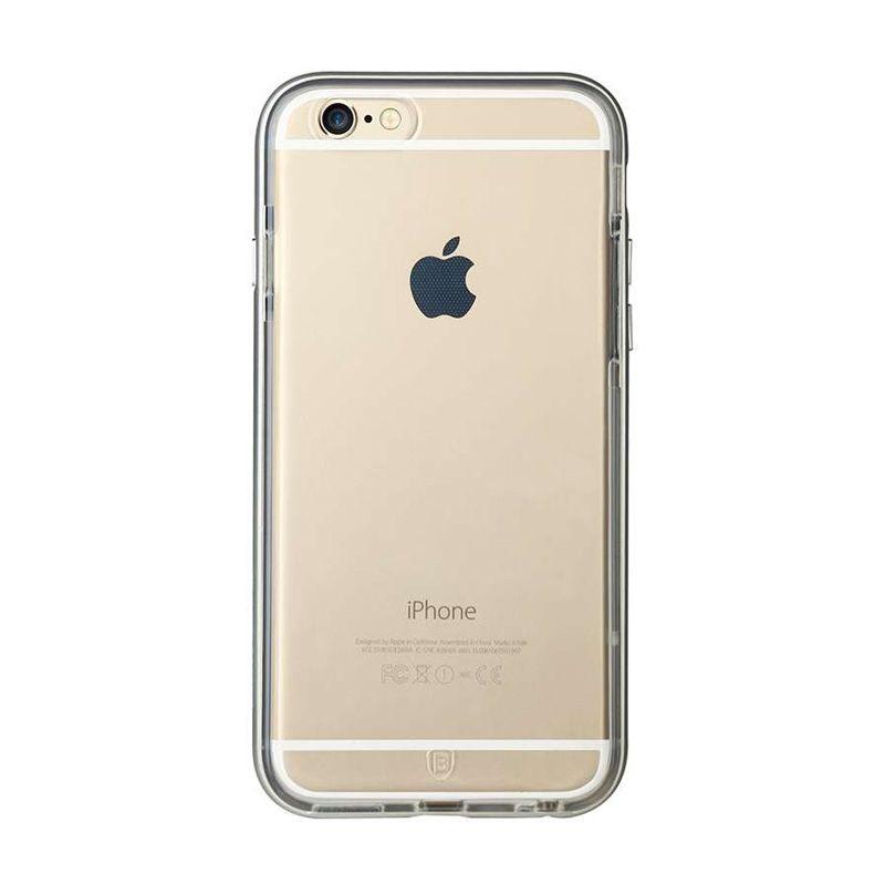 Baseus Fusion Plus Silver Casing For iPhone 6 Plus