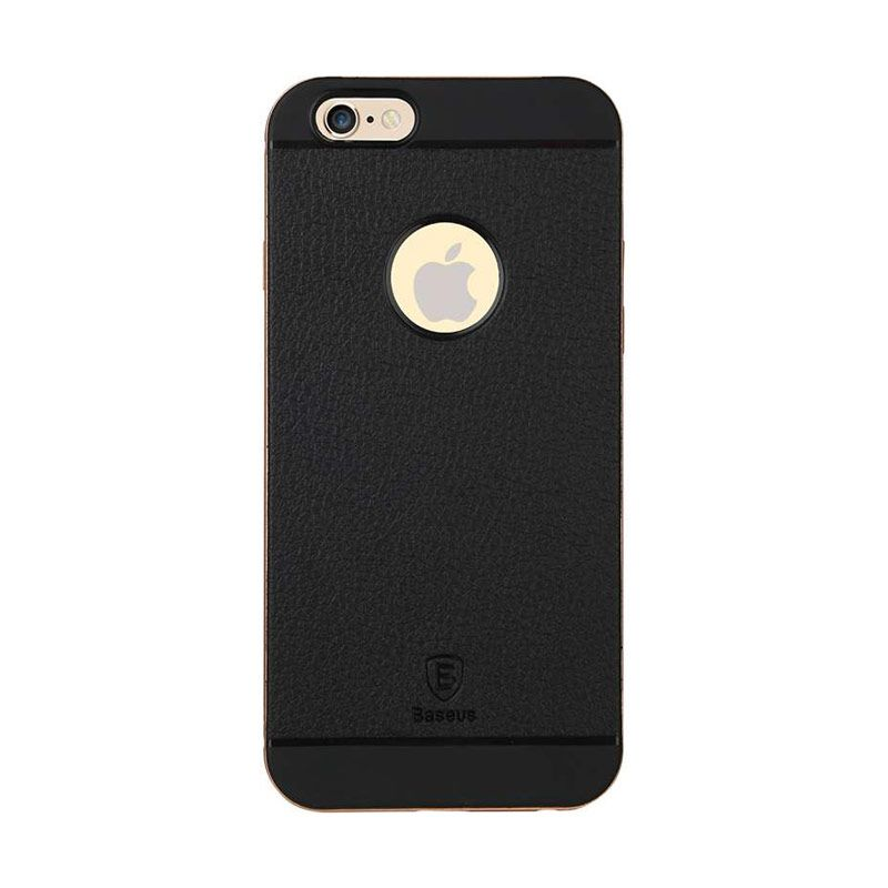 Baseus Fusion Pro Series Metal Bumper TPU Back Rose Gold Case for iPhone 6