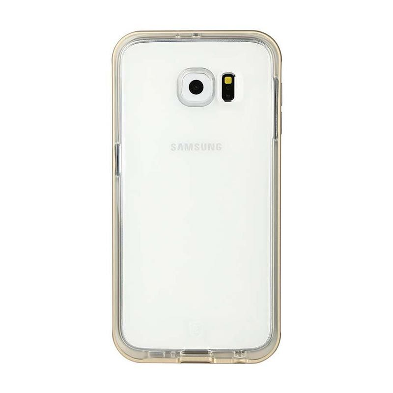Baseus Fusion TPU Gold Casing for Galaxy S6