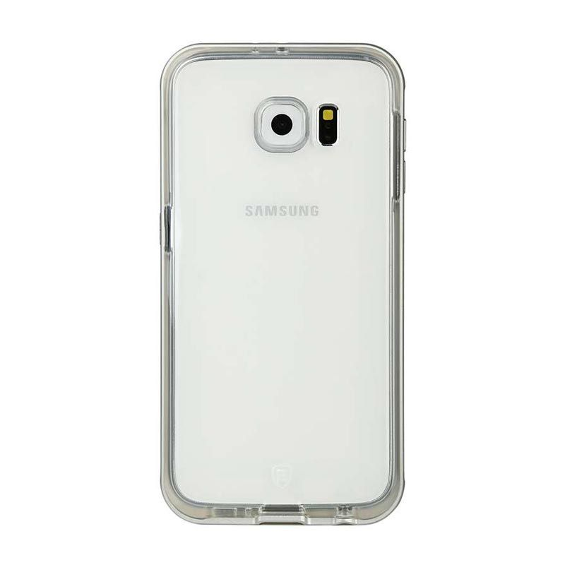 Baseus Fusion TPU Silver Casing for Galaxy S6