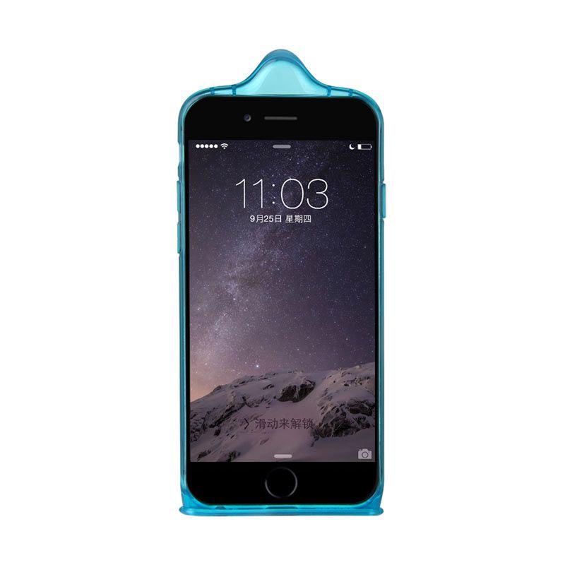 Baseus Icondom Case for iPhone 6 Biru