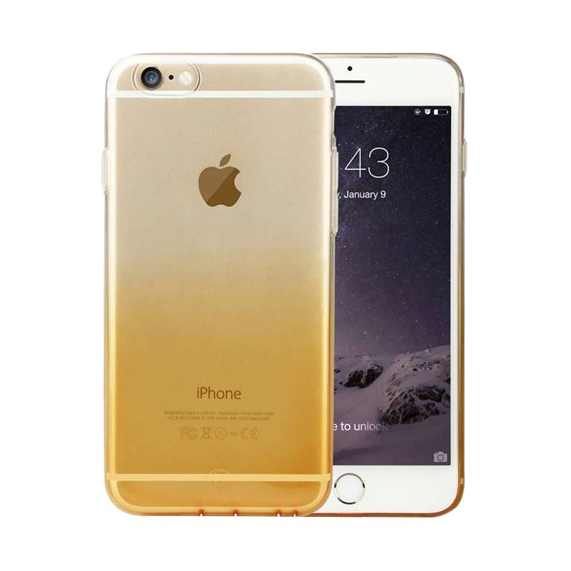 Baseus Illusion Gold Casing for iPhone 6 Plus or 6S Plus