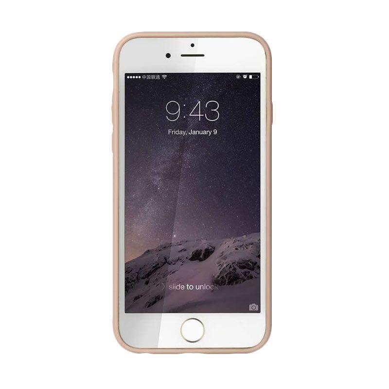 Baseus Metal Pink Casing for iPhone 6 Plus