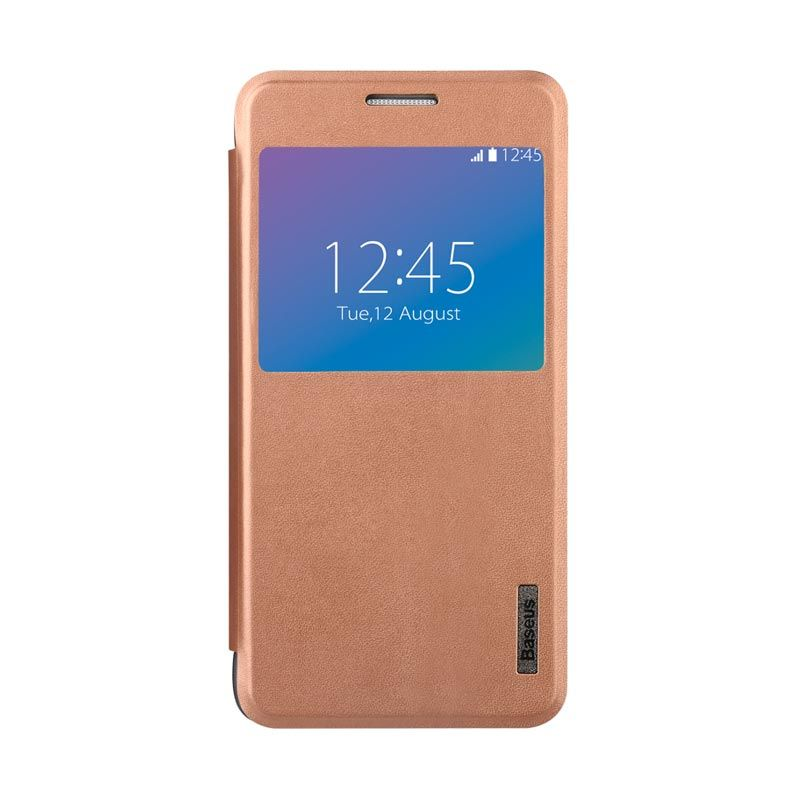 Baseus Primary Color Case Samsung Galaxy Alpha Gold