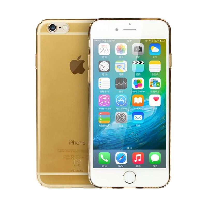 Baseus Sky Gold Casing for iPhone 6 or 6s