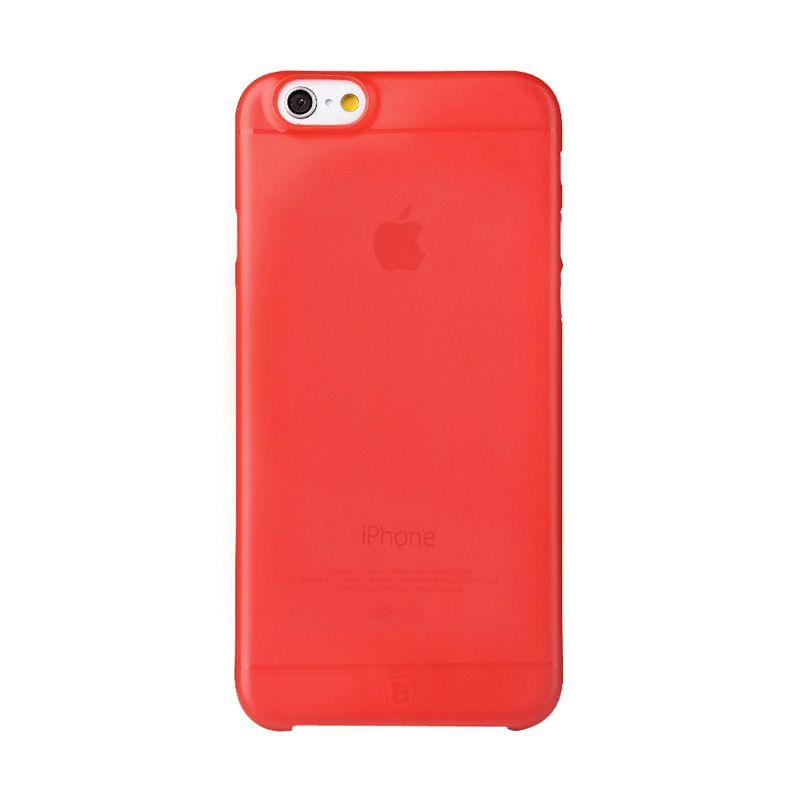 Baseus Slim Case for iPhone 6 Plus Merah