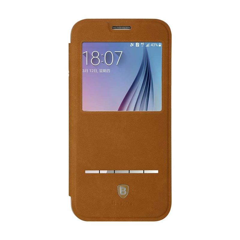 Baseus Terse Brown Casing for Galaxy S6