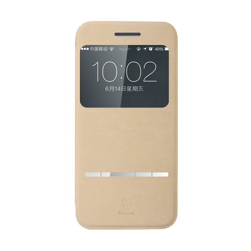 Baseus Terse Leather Case for iPhone 6 Khaki
