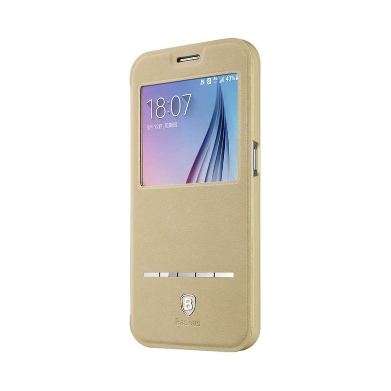 Baseus Terse Khaki Casing for Galaxy S6