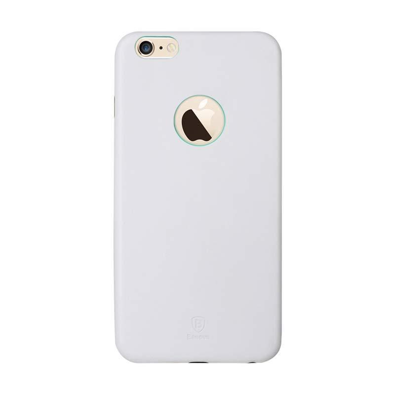Baseus Thin Case for iPhone 6 Plus Putih