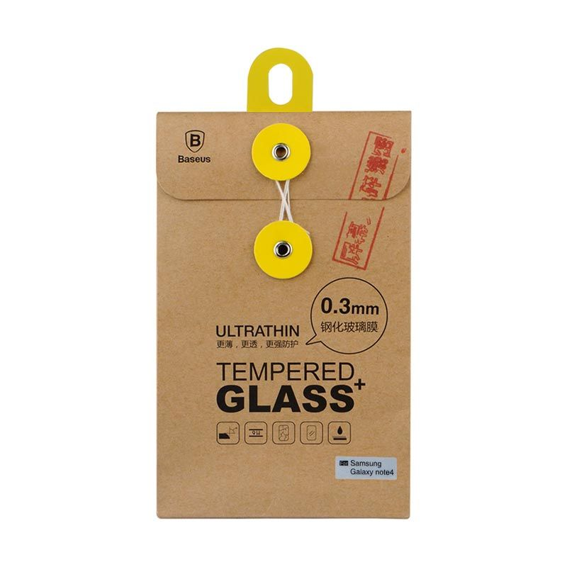 Baseus Ultrathin Tempered Glass 0.3mm For Samsung Galaxy Note 4