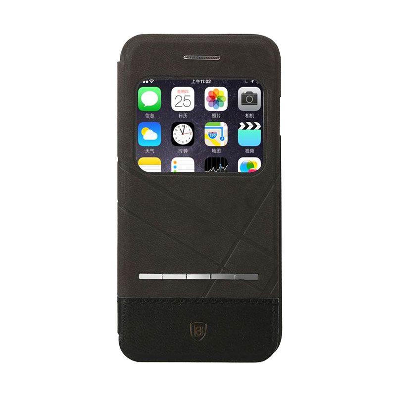 Baseus Unique Leather Case iPhone 6 Black