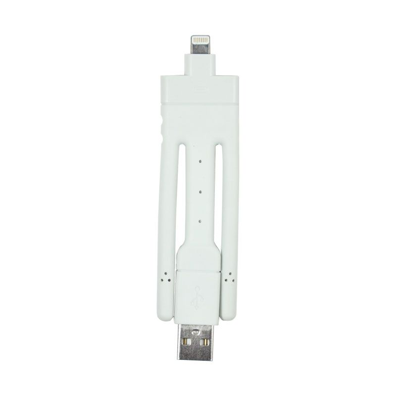 Bend it Amazing Tripod Lightning Cable White Kabel Charger [iPhone 5/5s/6 & 6 Plus]