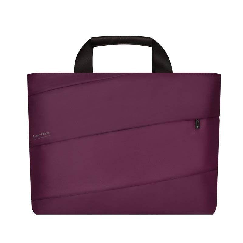 Cartinoe Amour Purple Tas Laptop [11-13.3 Inch]