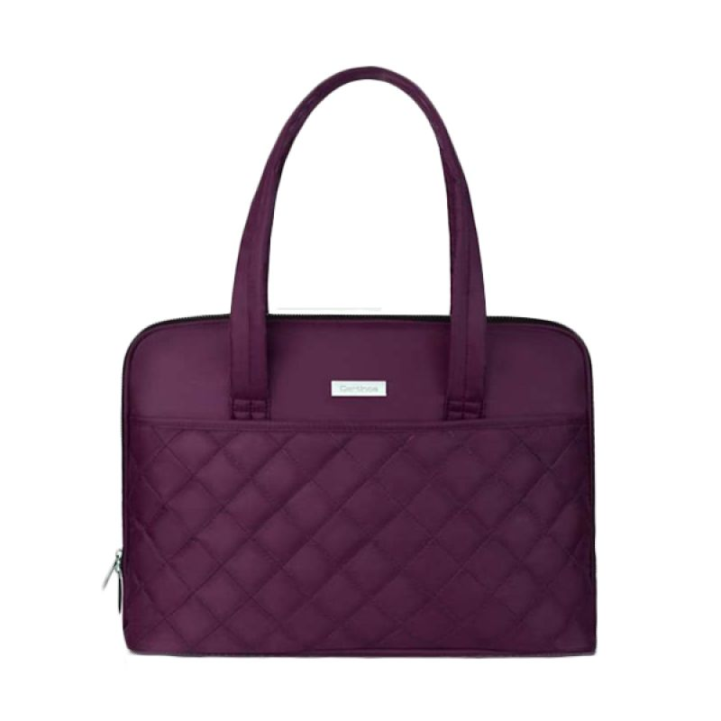 Cartinoe Smile Purple Tas Laptop [11-13.3 Inch]