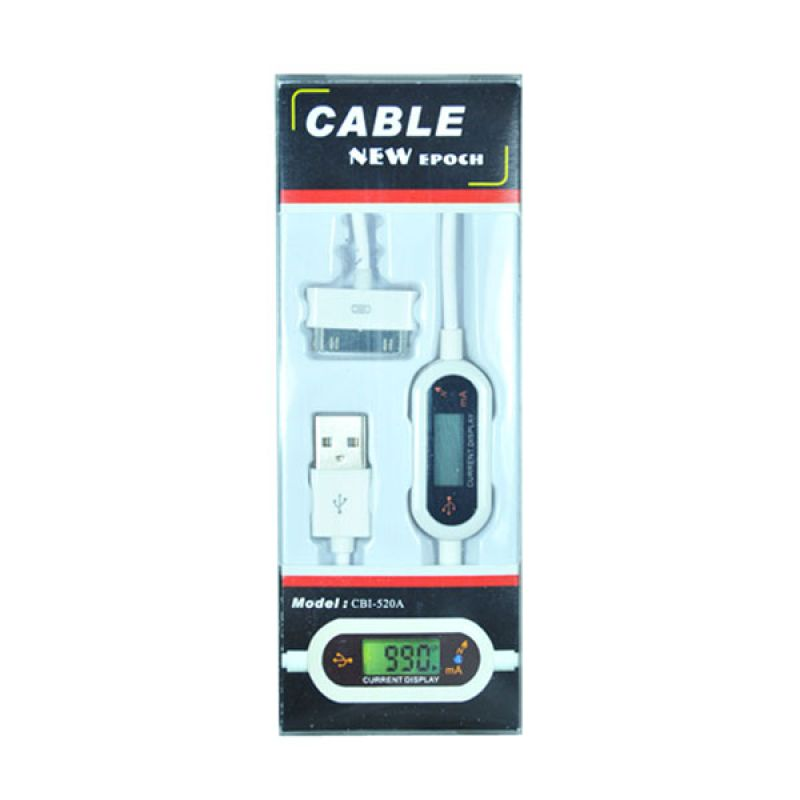 Epoch Cable with Digital Indicator for iPhone 4s/iPad White