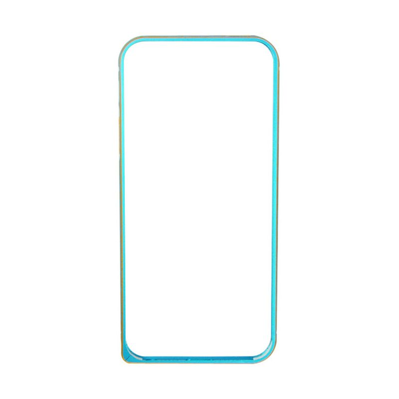 Fashion Bumper with TPU Protection for iPhone 5/5s Biru