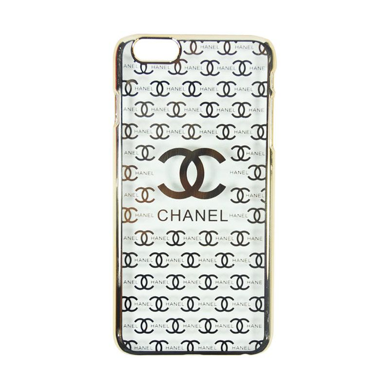 Fashion Chanel Elegant Slim Case for iPhone 6 Gold Casing