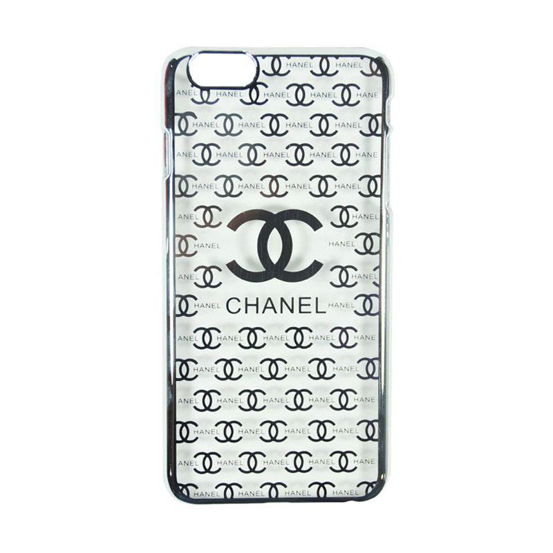 Fashion Chanel Elegant Slim Case for iPhone 6 Plus Silver Casing