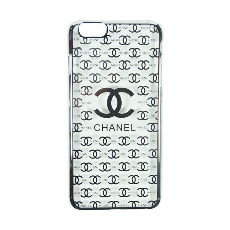 Fashion Chanel Elegant Slim Case for iPhone 6 Silver Casing
