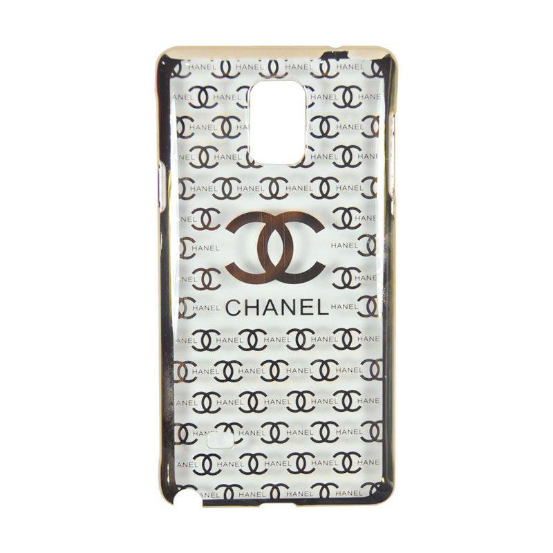 Fashion Chanel Elegant Gold Slim Casing for Samsung Galaxy Note 4