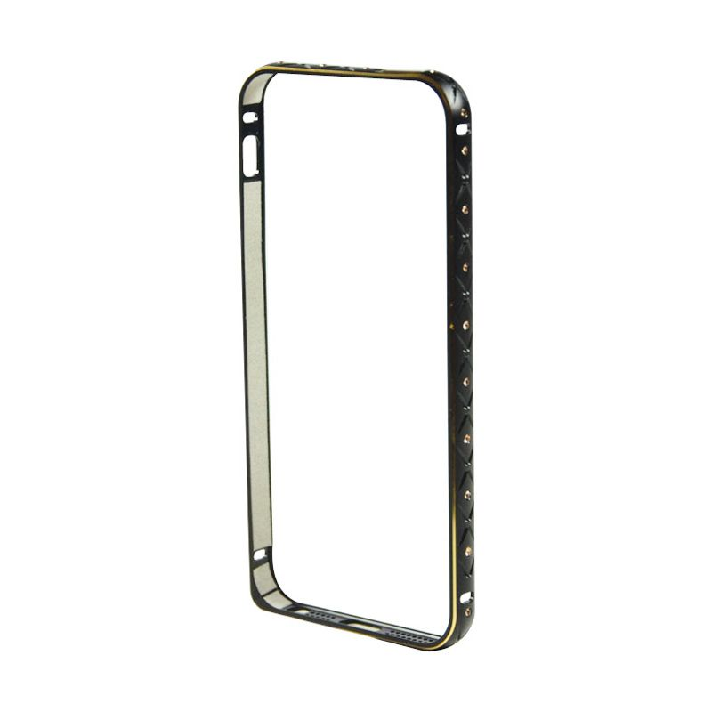Fashion Diamond Bumper for iPhone 5 dan 5s Hitam