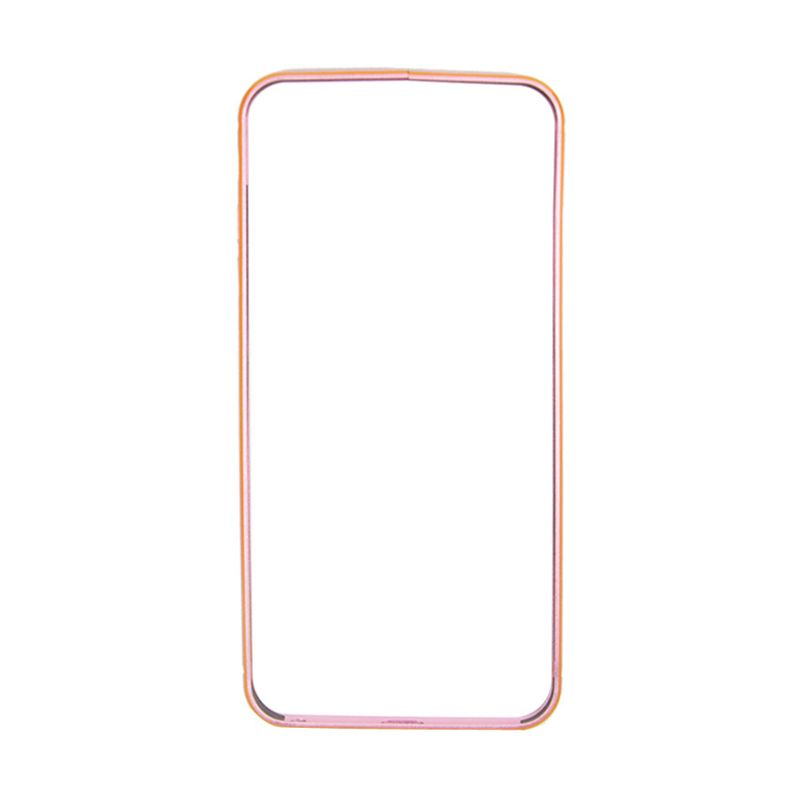 Fashion Luxury Bumper for iPhone 6 Plus Rose
