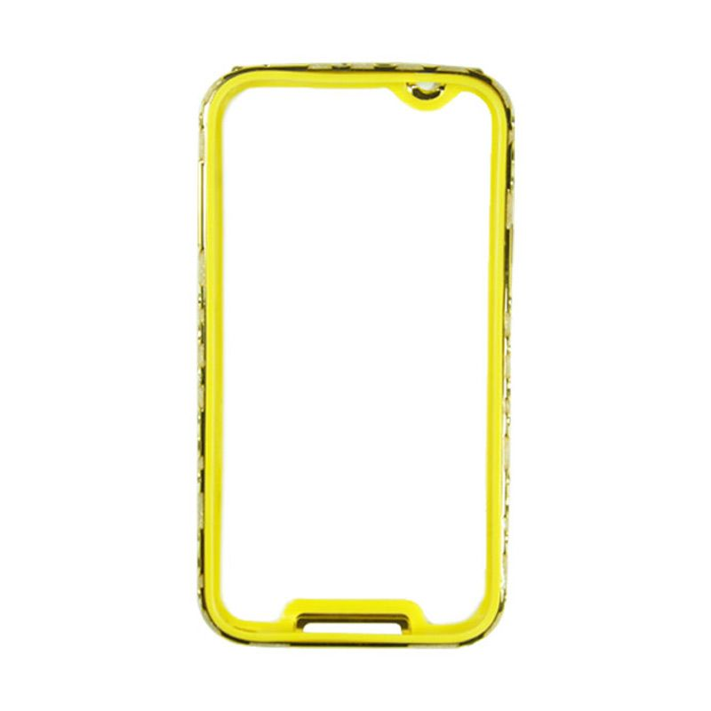 Fashion Metal Bumper For Samsung Galaxy Note 3 Gold Frame Gold