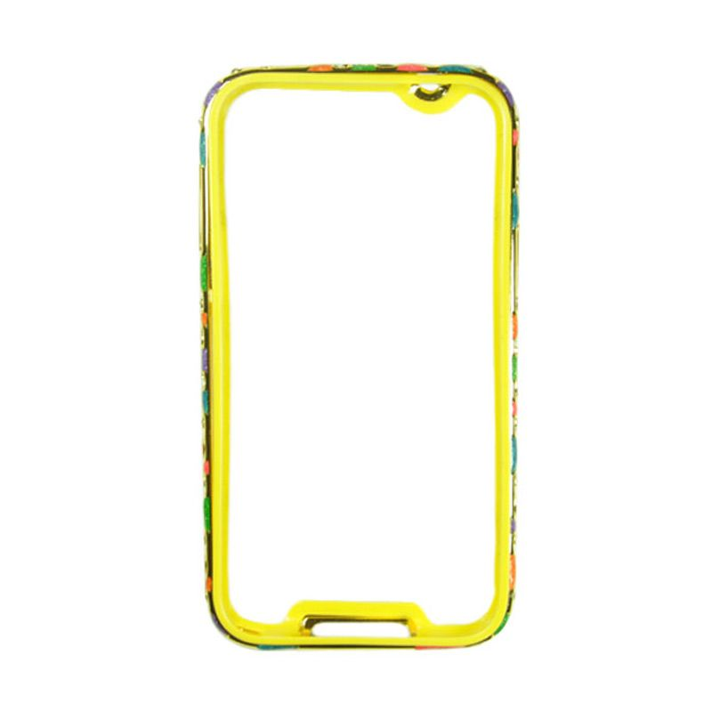 Fashion Metal Bumper For Samsung Galaxy S5 Gold Frame Colorful