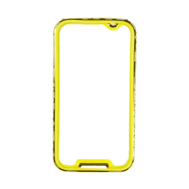 Fashion Metal Bumper For Samsung Galaxy S5 Gold Frame Gold