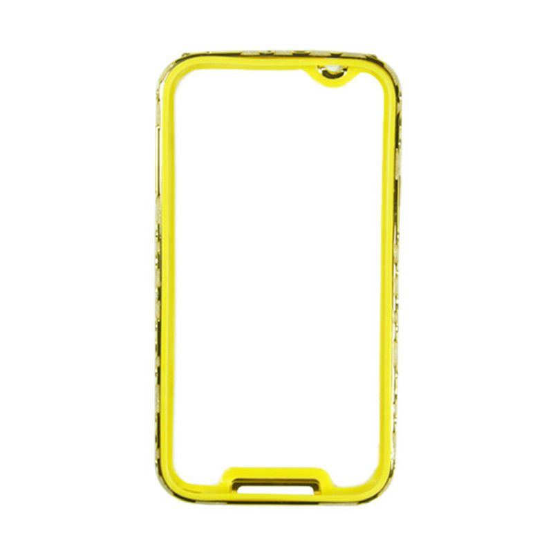 Fashion Metal Bumper With TPU Protection for Samsung Galaxy Note 3 Gold Frame Gold