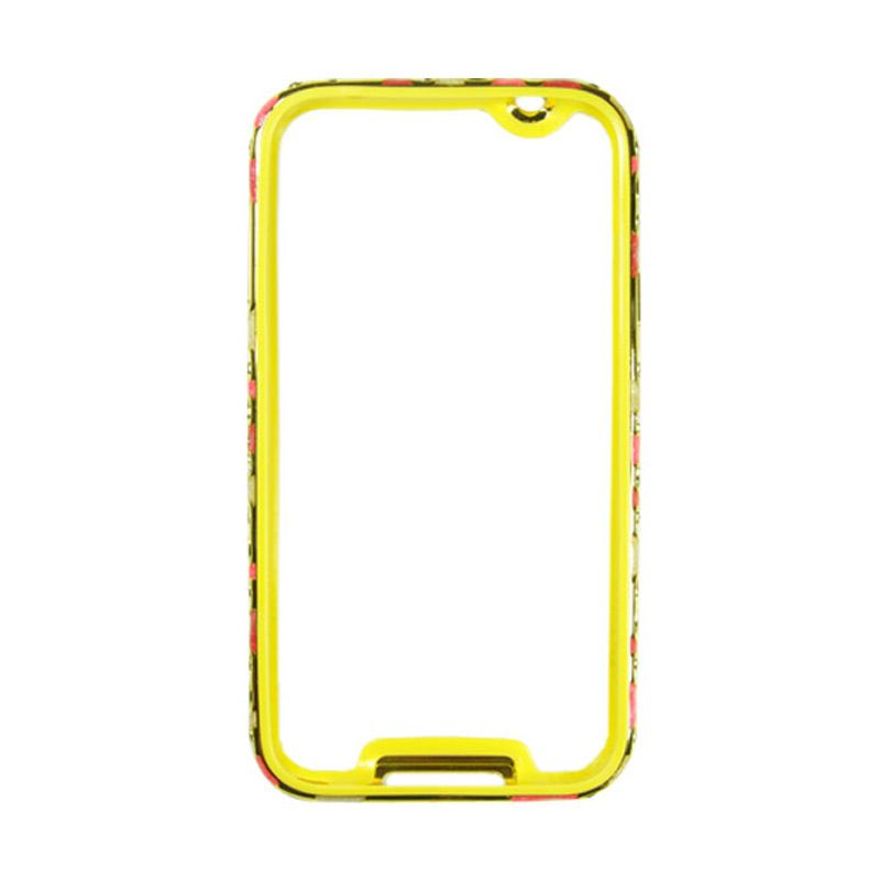 Fashion Metal Bumper With TPU Protection for Samsung Galaxy Note 3 Gold Frame Three Colour
