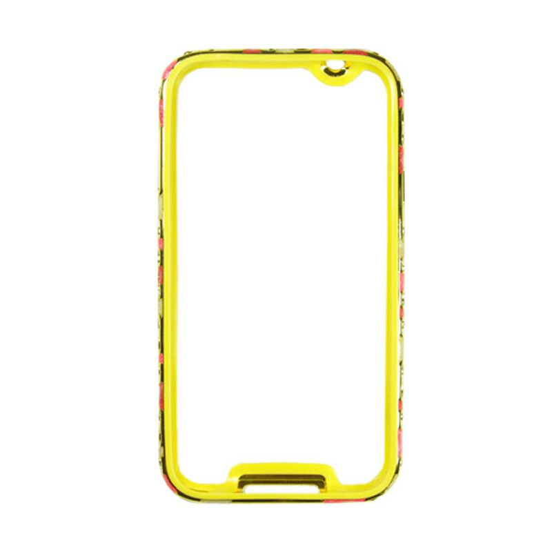Fashion Metal Bumper With TPU Protection for Samsung Galaxy S5 Gold Frame Three Color