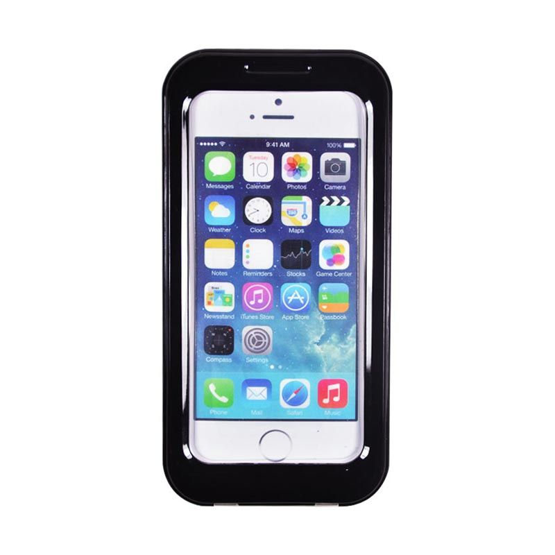 Fashion Waterproof Shell Case for iPhone 5S Hitam