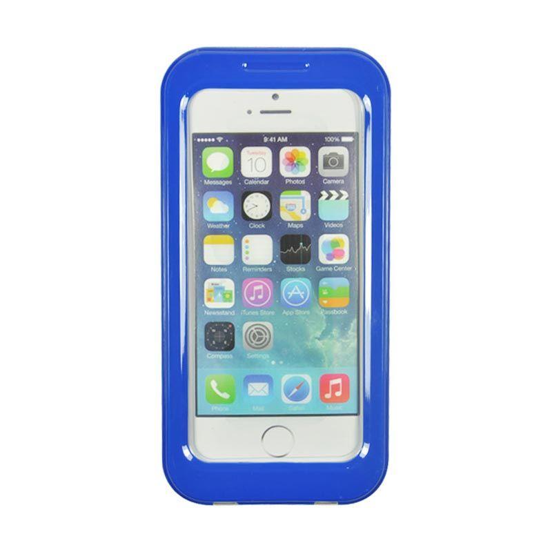 Fashion Waterproof Shell Case for iPhone 5S Biru