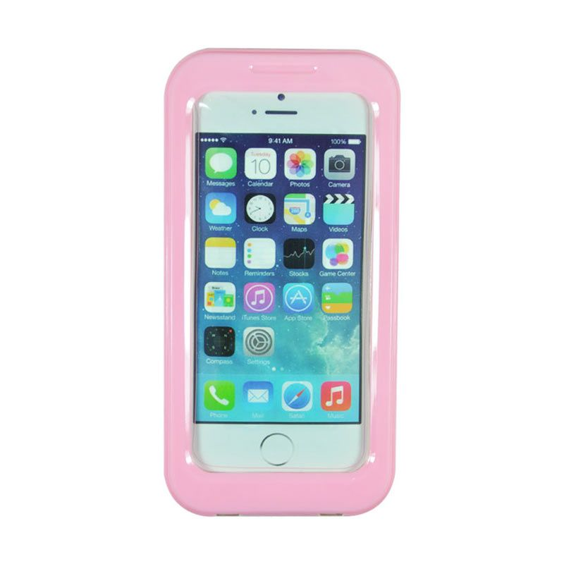Fashion Waterproof Shell Case for iPhone 5S Pink