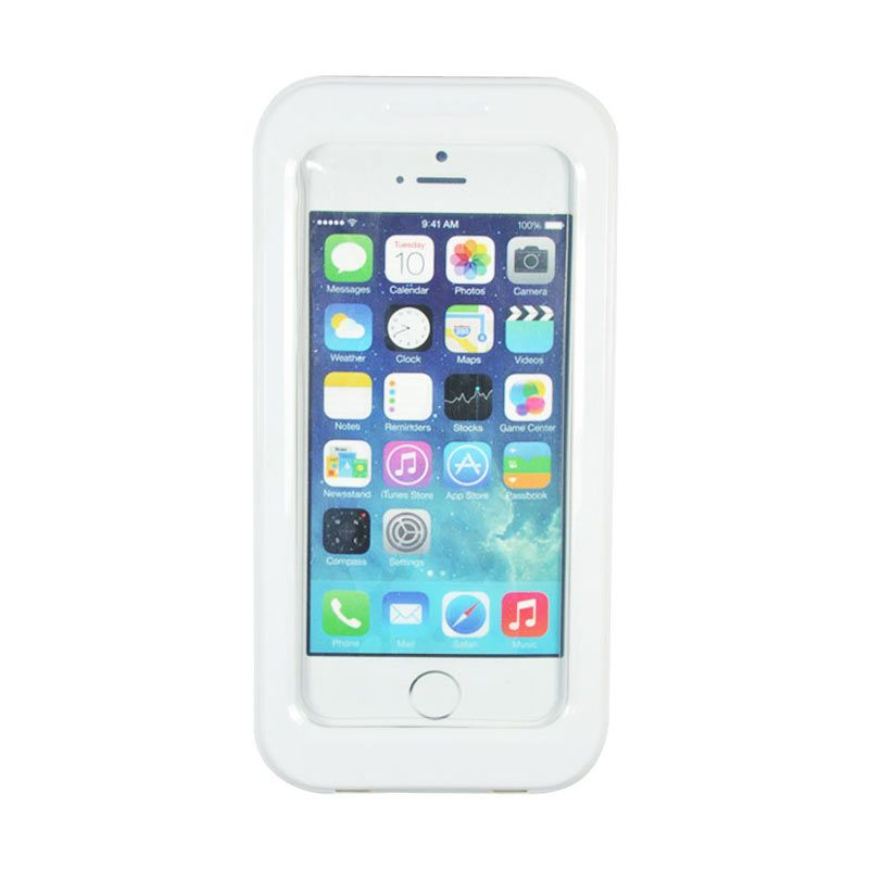 Fashion Waterproof Shell Case for iPhone 5S Putih