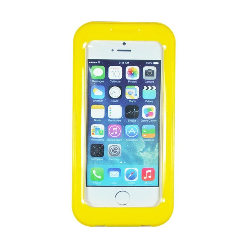 Fashion Waterproof Shell Case for iPhone 5S Kuning