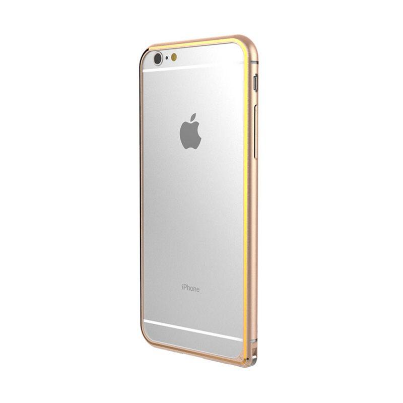 Feelymos Bling Ring for iPhone 6 Golden