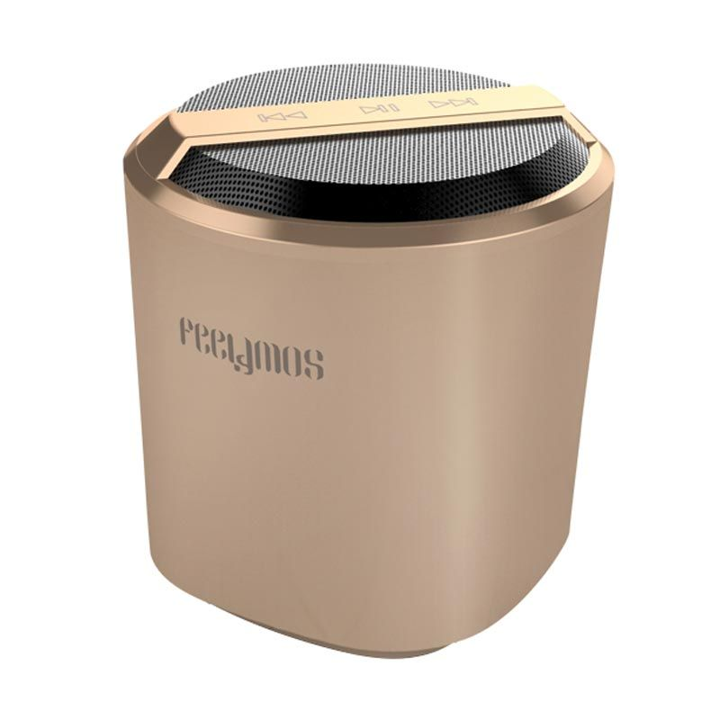 Feelymos Bluetooth Speaker FND 301 Music Control Golden