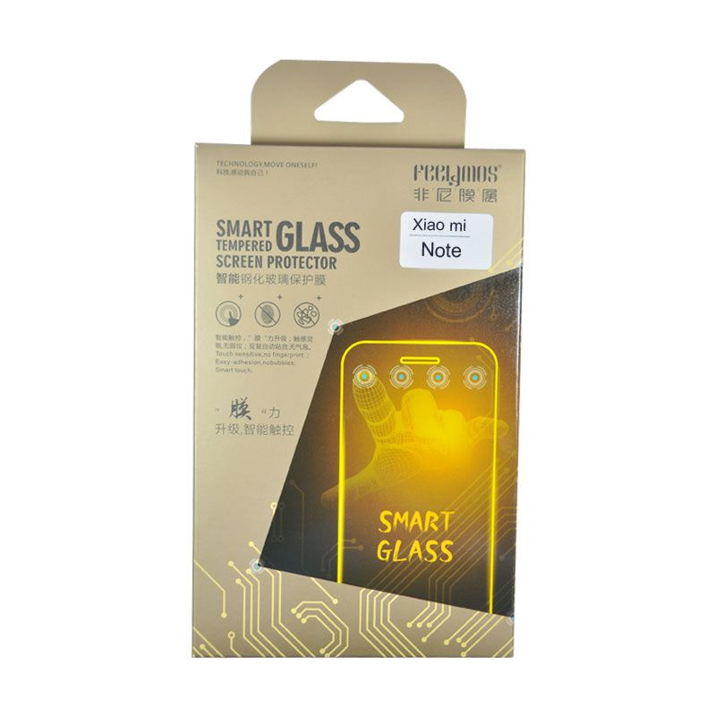 Feelymos Smart Tempered Glass Screen Protector for Xiaomi Note