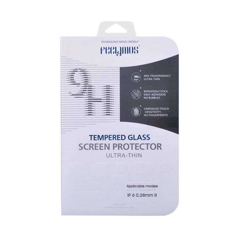 Feelymos Tempered Glass 0.28mm Screen Protector for iPhone 6